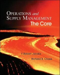 Operations and supply management the core by f robert jacobs and brand new lowest price fandeluxe Choice Image