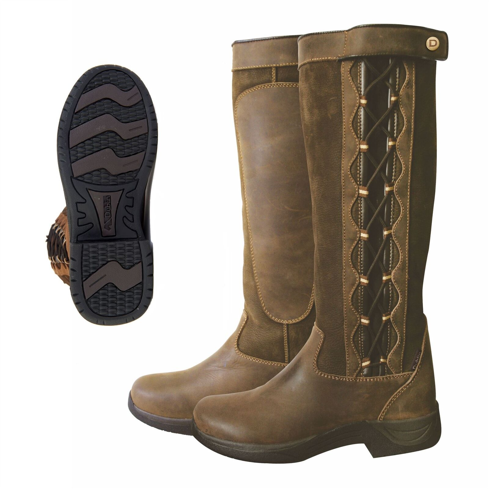 Dublin Pinnacle I Fashionable Country Waterproof Boots