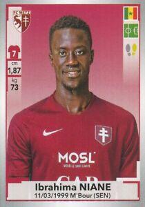 155 HABIB DIALLO # SENEGAL FC.METZ CARD ADRENALYN LIGUE 1 2020 PANINI