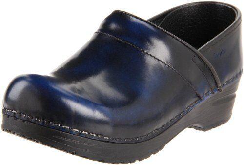 Sanita Women's Professional Cabrio Clog,Blue,36 EU/5.5-6 M US