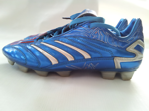 super popular 79942 5a338 Image is loading VINTAGE-RARE-ADIDAS-PREDATOR-TRAXION-FIRM-GROUND-SOCCER-