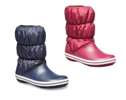 Talla 3 Forro Moda Suave Botas Nieve Crocs Invierno Puff 9 Cálido Mujeres vFwqFazt