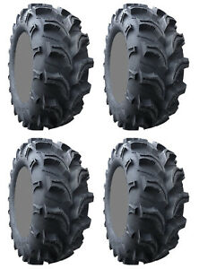 Four-4-Interco-Vampire-II-ATV-Tires-Set-2-Front-27x9-12-amp-2-Rear-27x9-12-2