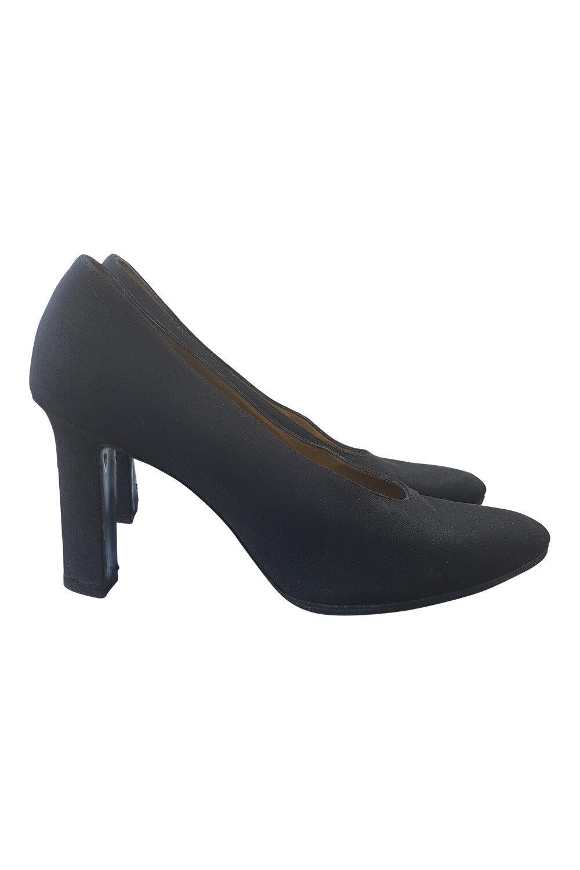 YVES SAINT LAURENT BLACK COURT Schuhe Schuhe Schuhe (US 8.5) bced0e