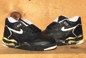 wylot duża obniżka fantastyczne oszczędności Details about Vintage 1991 Nike Air Force Low V Robinson Black/White Size  7.5 NOT WEARABLE!!!