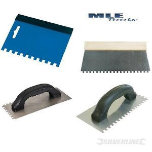 Silverline Floor wall tile adhesive glue Spreader Comb Trowel soft ...