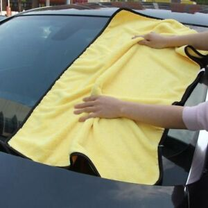 New-Super-Absorbent-Car-Wash-Microfiber-Towel-Drying-Cloth-Hemming-Car-Cleaning
