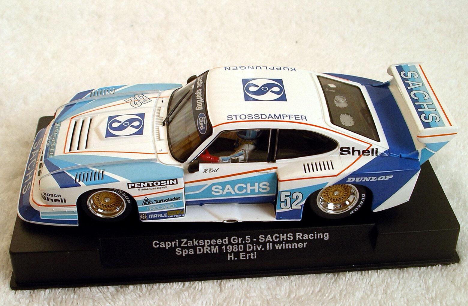Sideways Ford Capri Team Sachs Spa 1980 1 32 neu