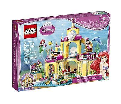 LEGO 41063 Disney Princess Little Mermaid Ariel's Undersea Palace NIB! Retired