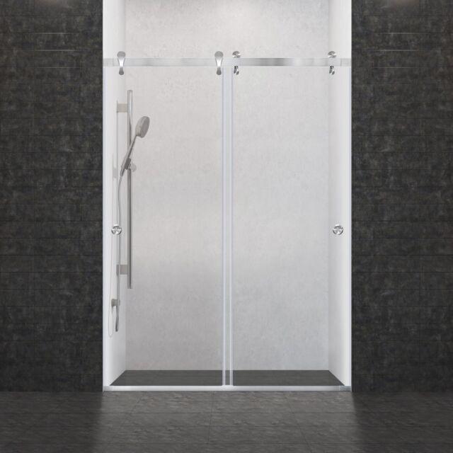 Shower Door Bypass Sliding Frameless 57 12 60 W X 76 H Ultra H