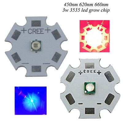 1W-100W High Power LED Chip 660nm Deep Red LED Grow Light 440nm 380nm-840nm cob