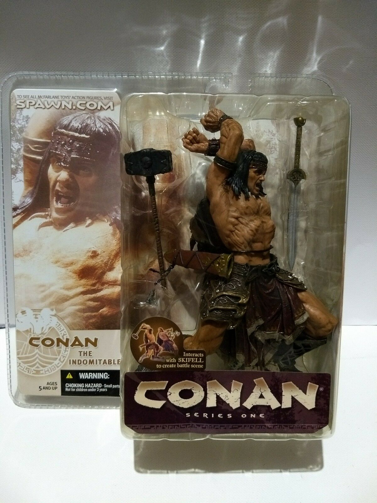 CONAN  The Indomitable- Series One (2004)McFARLANE TOY'S.