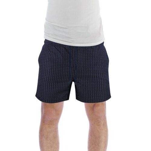 Brave Soul Drake Mens Swim Shorts Geo Print Swimming Summer Trunks