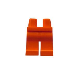 Lego-2-Stueck-orange-Beine-Hosen-fuer-Minifiguren-Figuren-Basics-City-Neu