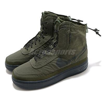 Nike Wmns AF1 Air Force 1 High Shell Cargo Khaki Women Casual Shoes BQ6096-301   eBay