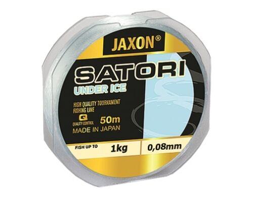 Angel cuerda Jaxon Satori Under Ice 50m bobina invierno cuerda monofilamento