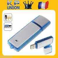 Mini Dictaphone Usb Enregistreur Vocal Audio Micro Espion Cle Flash 4go 8go