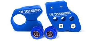 Yamaha-Banshee-350-YFZ350-slide-and-guide-kit-BLUE-slider-roller-TM-Designworks