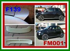 MINIGONNE PER FIAT 500 REP ABARTH FM001+SPOILER GREZZO TIPO SP F139G SIM001-1bg