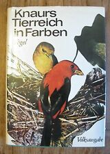 Knaurs Tierreich in Farben Vögel  K0162