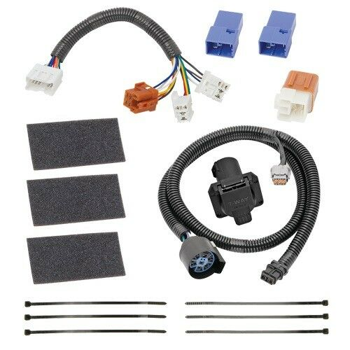Tekonsha Trailer Hitch Wiring Tow Harness For Nissan 7-Way Part #118266