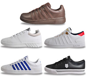 K Swiss Mens Classic Heritage Retro Vintage Trainers From £19.99 Free P&P