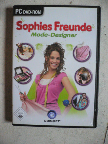 1 von 1 - Sophies Freunde: Mode-Designer (PC, 2007, DVD-Box) - Management Simulation