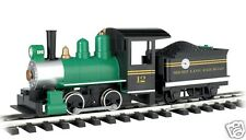 Large Scale G Bachmann 91498 Locomotive with Tender - Short Line Railroad