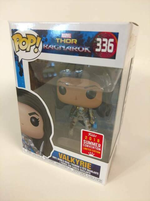 Funko Pop Marvel 336 Thor Ragnarok Valkyrie 2018 Summer Convention For Sale Online Ebay