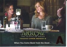 Arrow Season 2 Red Foil Parallel Base Card #39 When You Come Back from the