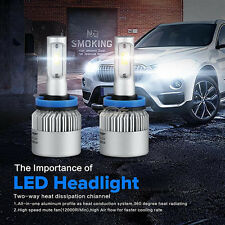 2x H11 H8 H9 160W LED Headlight Head Light Kit 16000lm Bulb Car Fog Driving Lamp
