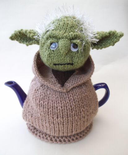 Yoda Tea Cosy Knitting Pattern To Make your Own