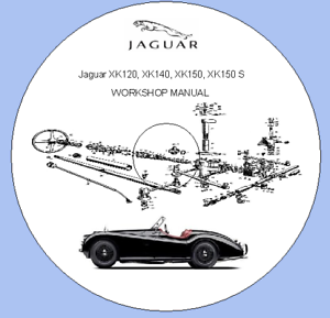 Details about Jaguar XK120, XK140, XK150, XK150 S FACTORY SERVICE MANUAL on