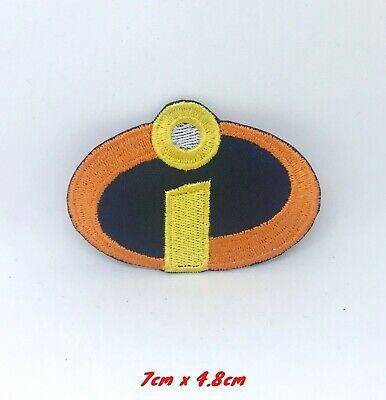 Disney Los Increibles parche con logotipo bordado apliques coser hierro en