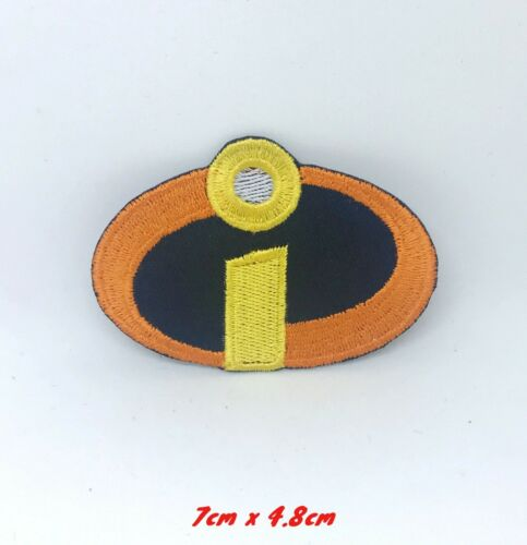 Incredibles disney Cartoon Iron on Sew on Embroidered Patch applique #287