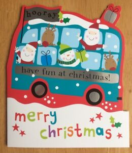039-Merry-Christmas-Have-Fun-039-Clintons-Christmas-Card-6-25-034-x5-25-034-Xmas-General