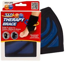 Hot Cold Therapy Brace 360 Degrees Ankle Elbow Knee Wrap Arthritis Sprain Strain