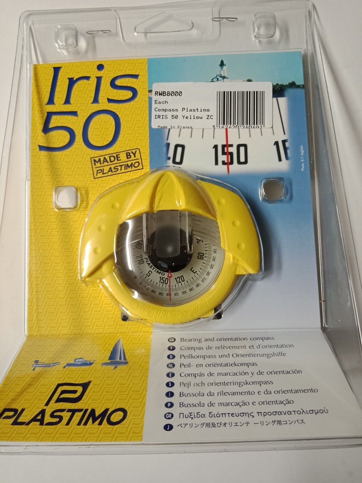 Orienteering Compass Bearing Boat Compass Plastimo Iris 50 Hand Bearing Compass Compass Zone C 1b10bf