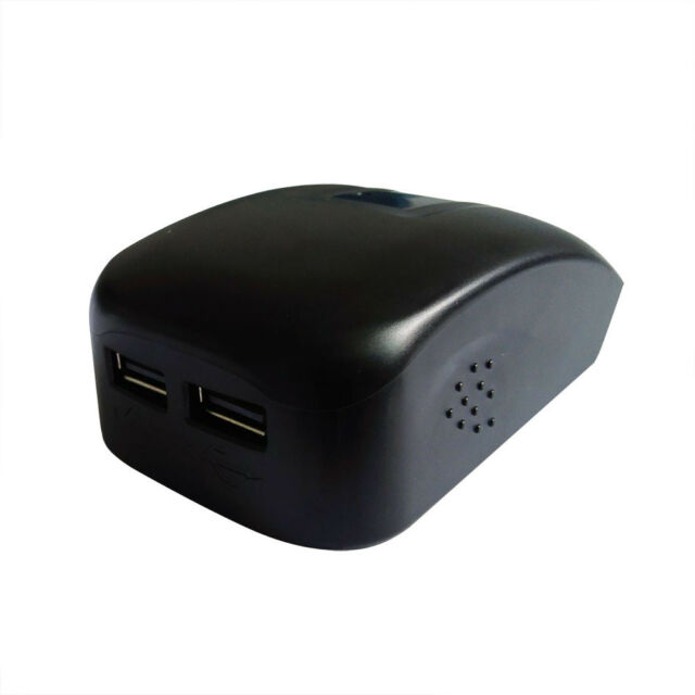 3×  USB Charger Adaptor For 14.4V,18V Bosch Battery Pack BAT607 BAT609 iPhone AU