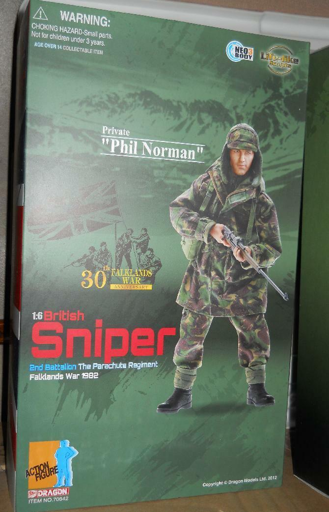 1 6 Dragon British Sniper Falklands War 30th Anniversary Phil Norman Last one