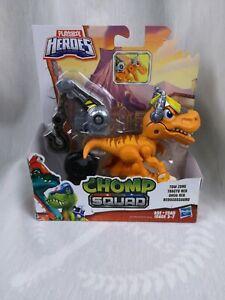 New-PLAYSKOOL-HEROES-CHOMP-SQUAD-TOW-ZONE-TRACTO-REX-DINOSAUR-T-REX-Jurassic