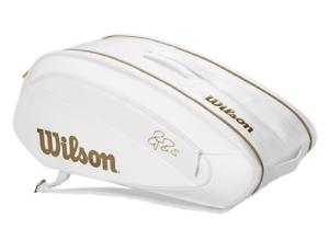 Charitable Wilson-wr8004401001-federer Dna 12 Pack Wimbledon édition Tennis Sac-blanc-afficher Le Titre D'origine Acheter Un Donner Un