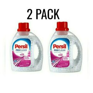 Persil-ProClean-Pearls-Laundry-Detergent-2-Intense-Fresh-Scent-59oz-Lot-of-2-HTF