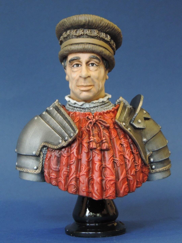 Sir John Hawkwood Resin Bust 120mm Studio Painted Military Bust