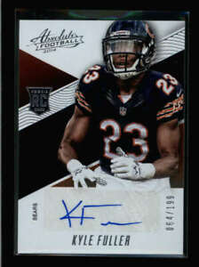 KYLE-FULLER-2014-PANINI-ABSOLUTE-163-ROOKIE-AUTOGRAPH-AUTO-064-199-AY1224
