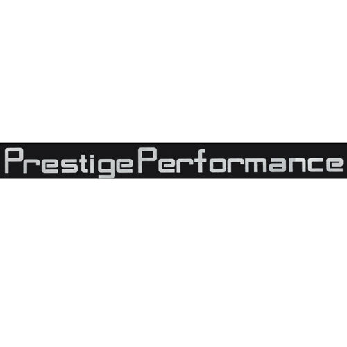 Prestige Performance Graphic Front Windshield Decal Vinyl Car Sport Stic.BB