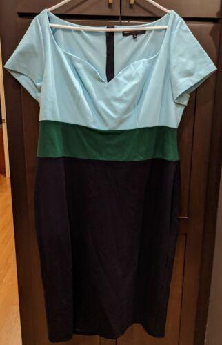 ELOQUII Jason Wu Sweetheart Neckline Sheath Dress