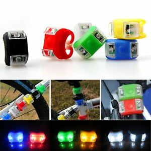 1X-Silicone-Bike-Bicycle-Cycling-Head-Front-Rear-Wheel-2-LED-Flash-Light-Lamp