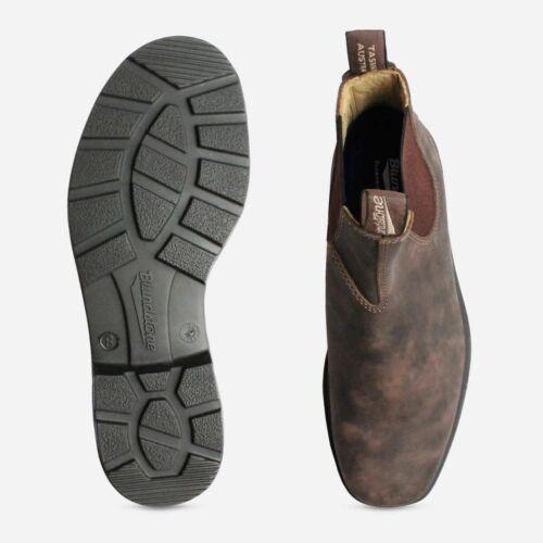 Ladies Blundstone 1306 Rustic Brown Slip on Chelsea Boots