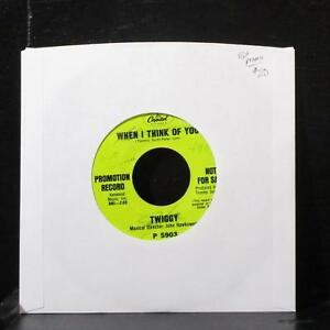 Twiggy-When-I-Think-Of-You-Over-And-Over-7-034-VG-Promo-Vinyl-45-Capitol-P5903